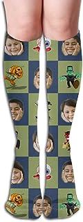 Calcetines personalizados personalizados con foto de mascota y cara impresa