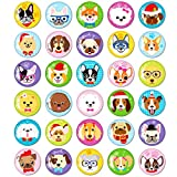 MORCART 30PCS Dog Magnets for Fridge Decorative Refrigerator Magnets Locker Magnets for Office Cabinets Whiteboards Classroom