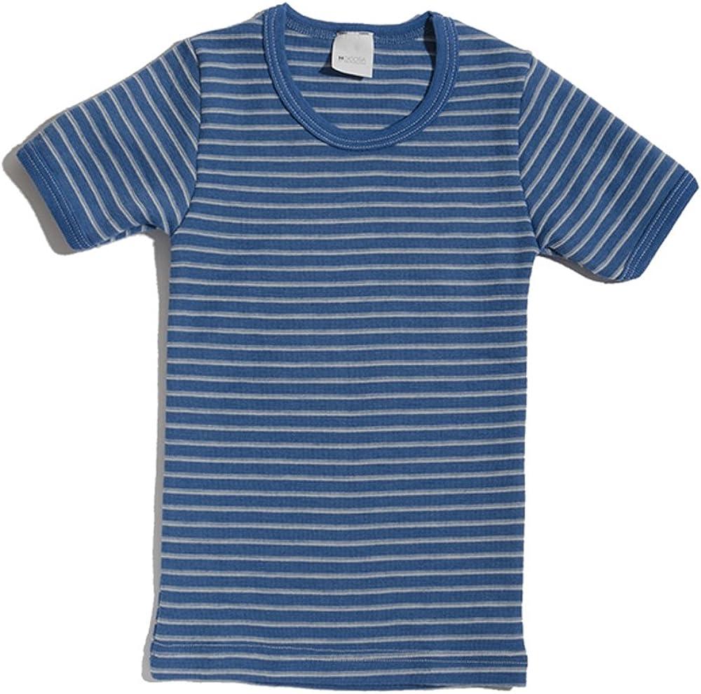 Hocosa Little Kids Organic Short-Sleeved Portland Mall Max 86% OFF Wool Undershirt