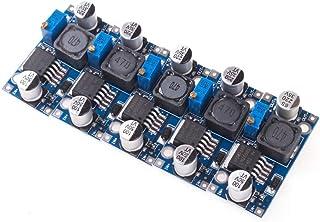 ANGEEK LM2596S - Módulo de alimentación de corriente continua (5 unidades, 3,2-40 V, después de 1,25-35 V)