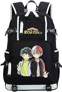 Siawasey My Hero Academia Anime Boku no Hero Academia Cosplay Backpack Daypack Bookbag Laptop School Bag