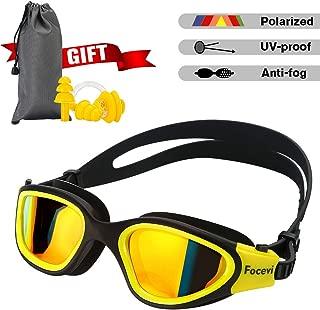 Focevi Swimming Goggles for Men/Women, Polarized...