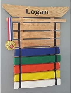 karate belt displays rack & holders