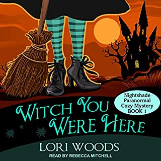 Couverture de Witch You Were Here