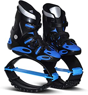 Air Kicks Anti-Gravity Running Boots Unisex Fitness Jump Shoes Bounce Shoes,Blue,42