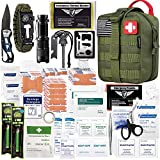 Best Survival Kits - EVERLIT 250 Pieces Survival First Aid Kit Molle Review