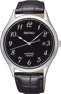 Seiko Reloj Analógico para Hombre de Cuarzo con Correa en A