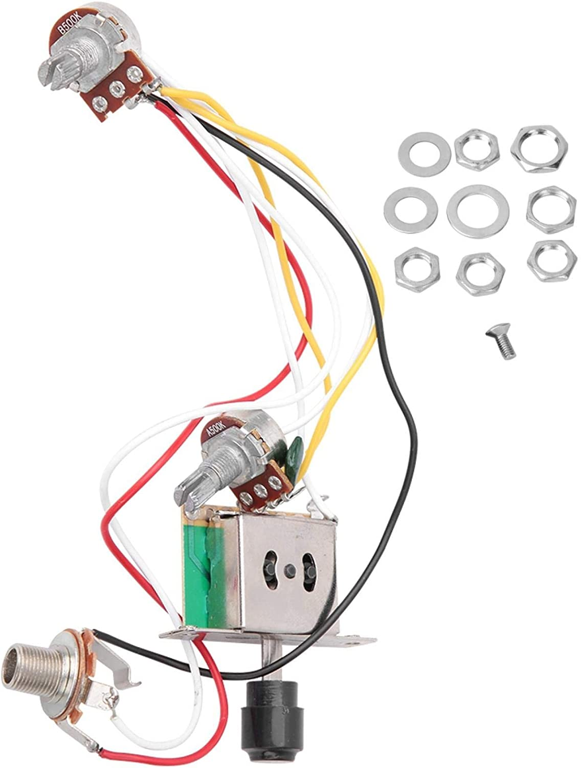 Snufeve Prewired Wiring Harness Excellent Detroit Mall 1T1V Potentiometer Harne