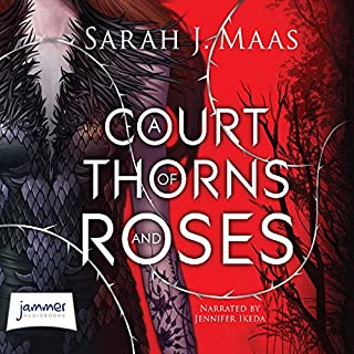 A Court of Thorns and Roses                   By:                                                                                                                                 Sarah J. Maas                               Narrated by:                                                                                                                                 Jennifer Ikeda                      Length: 16 hrs and 7 mins     221 ratings     Overall 4.5