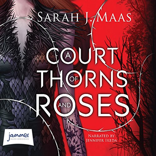 A Court of Thorns and Roses audiobook cover art