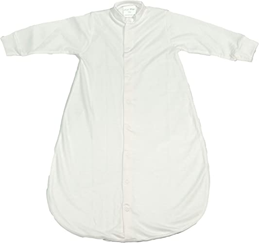 Kuli-Muli 7012 Lyocell Gigoteuse en jersey Blanc 110 cm