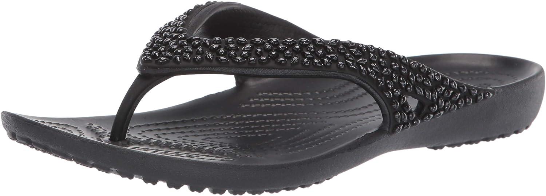 Crocs Women's Kadee Ii Embellished Flip Flops | Sandals