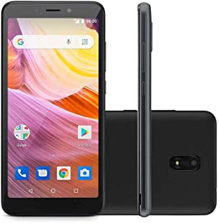 Smartphone Ms50G 3G 5,5 Pol. Ram 1Gb Câmera 8Mp+5Mp Android 8.1 Bluetooth 8Gb Preto Multilaser - P9078