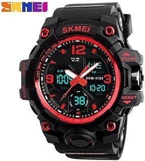 Relógios Masculinos Digital Esport Prova D' Água Skmei 1155 Vermelho