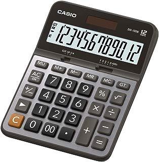 Calculadora de Mesa 12 Dígitos, Casio, DX-120B, Prata