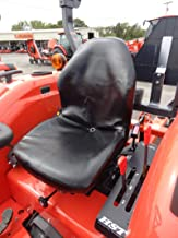 Durafit Seat Covers, KU20 Black Mahindra Seat Covers for Tractor 1526 4WD HST and Shuttle ONLY.MX4800,MX5000, MX5200,MX 5800, M5660 SUH/SUHD, Z221R Mower Zero Turn Mower