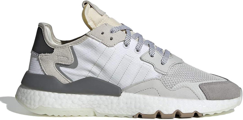 Adidas Originals Herren Turnschuhe Nite Jogger Weiss (10) 44