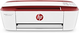 طابعة ديسك جيت انك ادفانتج 3788 اللاسلكية من اتش بي، مطبع ونسخ ومسح ضوئي الكل في واحد - احمر [T8W49C]