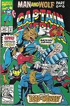 Marvel Comics & Stan Lee Presents; Captain America # 407, Man and Wolf, Part 6 of 6 (Vol. 1 No. 407, Sept. 1992)