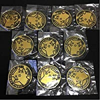 ポケモンカード コイン ワールドチャレンジ限定 ピカチュウ 金色 10枚セット