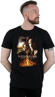 Men's Flaming Poster T-Shirt