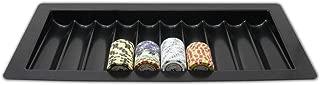 Da Vinci 10 Row 500 Chip Capacity Las Vegas Style Dealer Table Chip Tray