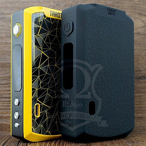 ModShield for Vaporesso TAROT PRO 160W TC Silicone Case ByJojo Skin Cover Sleeve Wrap Shield (Black)