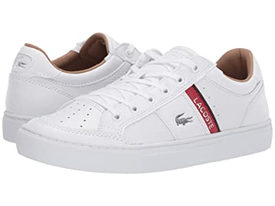 Lacoste Court Line 319 2 U (White/Red) Men