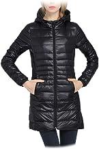 Ablaze Jin Women Winter Warm Coat Ultralight White Duck Down Jacket Female Long Down Parka High Filling Power