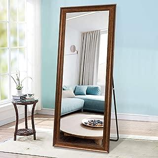 PexFix Rectangular Full Length Mirror Bedroom Floor Mirror Standing or Hanging, 65