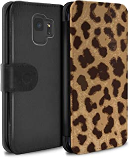 Phone Case Wallet for Samsung Galaxy S9/G960 Fashion Animal Print Pattern Leopard/Cheetah Design Flip Faux PU Leather Cover