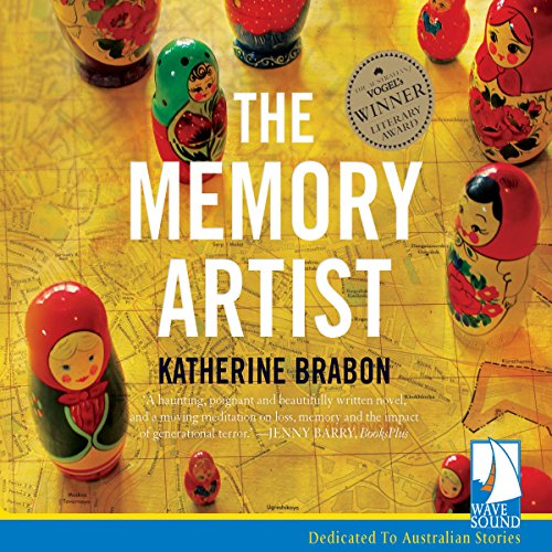 The Memory Artist audiobook cover art