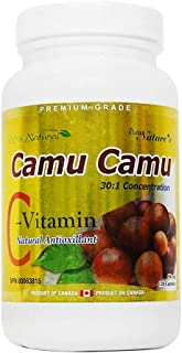 PNC Camu Camu 30:1 Concentration with Natural Antioxidant 500mg Enhance Immune Health and Support Body Balance Nutrition V...