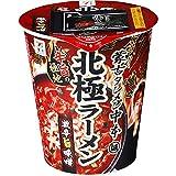 【販路限定品】日清食品 蒙古タンメン中本 北極ラーメン 117g×12個