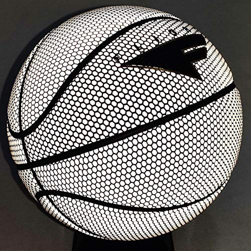 Review Of YZPXDD Holographic Glowing Reflective Basketball/Slip Grip/Slippery, Reflective Glowing Ho...
