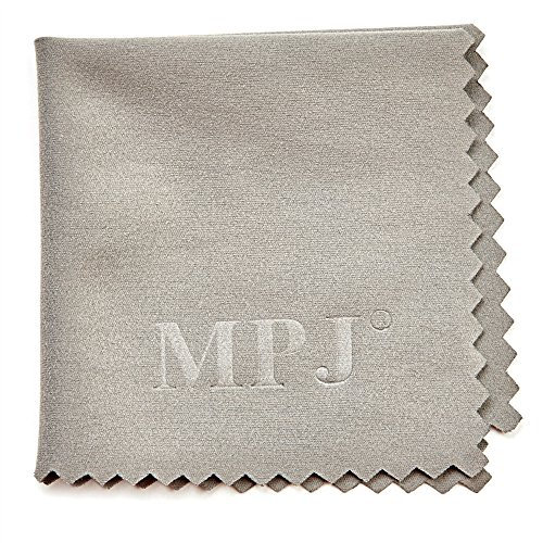 MPJ Extra Large Microfiber Cleaning Cloths - 6 Pack - 12 x 12 inch + 1 Pack 5.5x5.5 inch