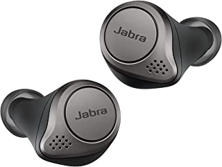 Jabra Elite 75t True Wireless Bluetooth Earbuds, with Charging Case, 28 Hours Battery, Voice Assistant Enabled, Titanium Black