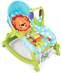 Baby Rocking Chair  Simple Comfortable Foldable Baby Bouncer Chair For Home Use  Suit For Infant Within Months  Green