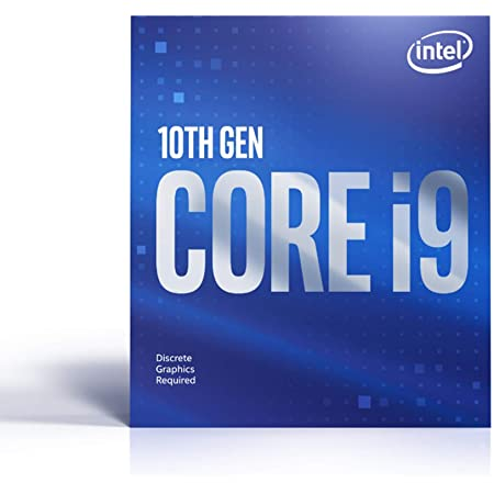 Intel Core i9-10900F Desktop Processor 10 Cores up to 5.2 GHz Without Processor Graphics LGA 1200 (Intel 400 Series chipset) 65W