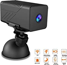 GXSLKWL Wireless Hidden Camera Support Remote Mobile Viewing and Storage WiFi 1080P Spy Camera with Night Vision Motion De...