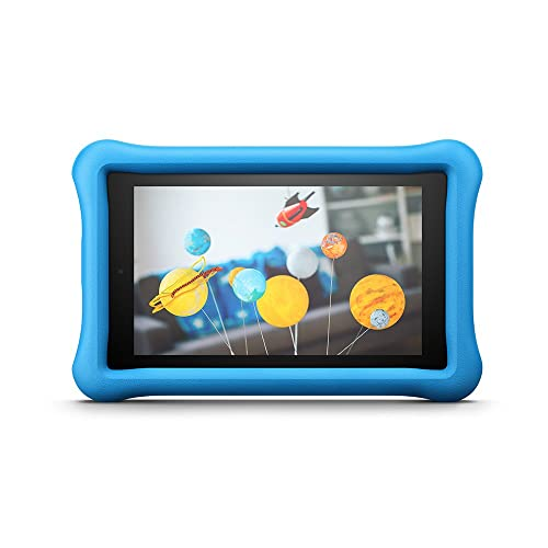 """Amazon Fire for Kids Kid-Proof Case for Fire 7 (7"""" Tablet, 7th Generation - 2017 release), Blue — Not compatible with 9th Generation (2019 Release)"""