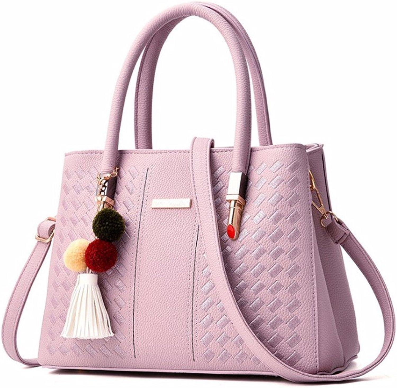 d99d5c6f3d089 GQFGYYL Handtasche Handtasche Handtasche Frau 2018 Neue Stil Einfach  Atmosph auml re Einer umh auml ngetasche