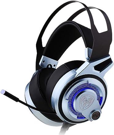 Gaming Headset per PS4 Xbox One PC, Plug-in audio surround stereo 7.1 Surround, con microfono a cancellazione di rumore e controllo del volume per Nintendo Switch, iPad portatile e video Gam, controll - Trova i prezzi più bassi
