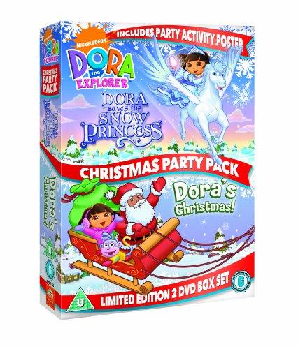 Dora The Explorer: Christmas Party Pack [Edizione: Regno Unito] [Reino Unido] [DVD]