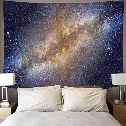 Galaxy espacio cielo estrellado tela de pared gran arte tapiz psicodélico colgante de pared toalla de playa manta tapiz de tela de fondo A6 180x230cm