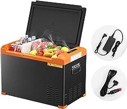 Portable Car Refrigerator JoyTutus 42 QUART(40L) Freezer (-4℉~68℉) Compressor Fridge with iron sheet for Camping