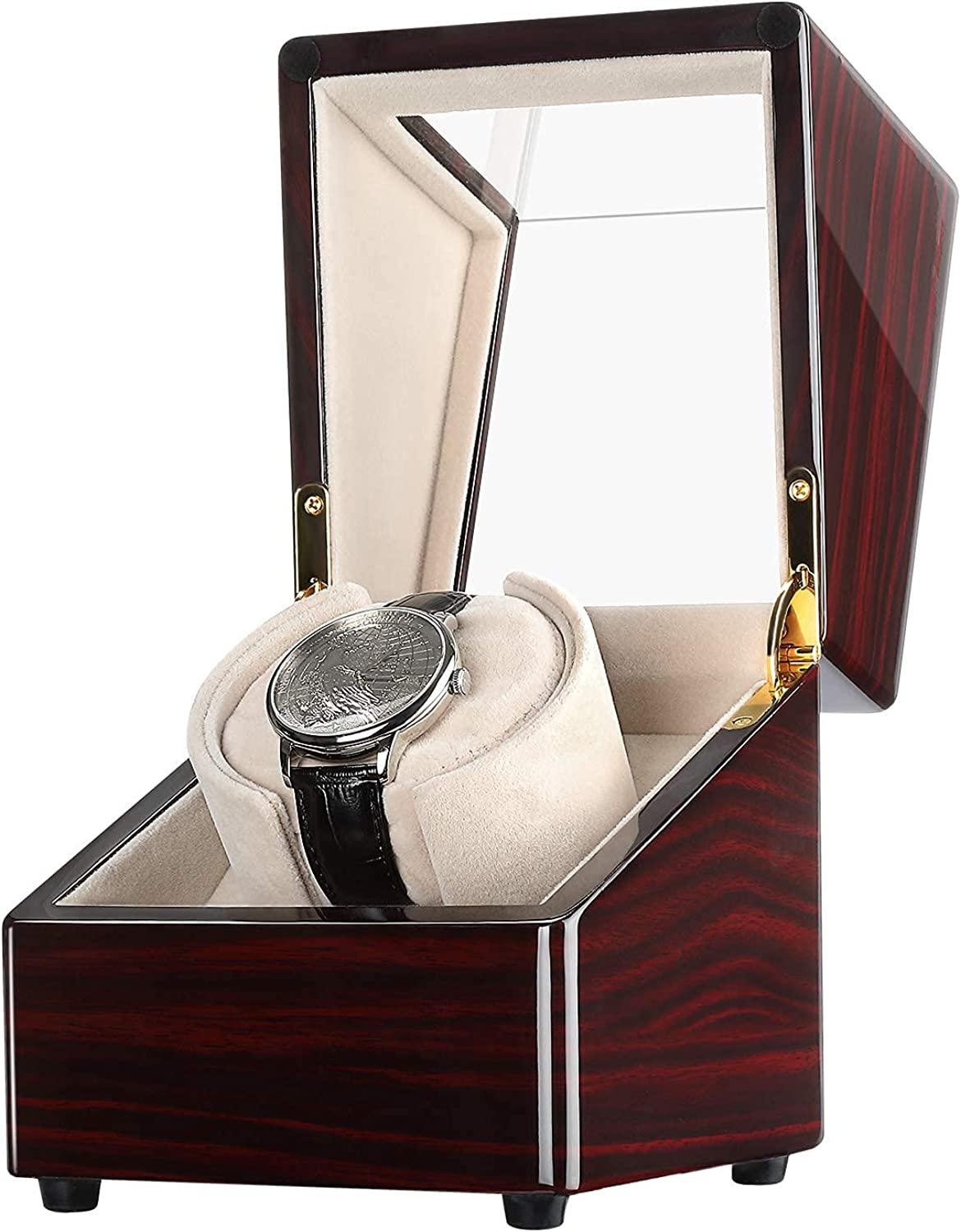 CHIYODA Ranking TOP18 Fashion Single Watch Winder for Wooden Pia Watches Box Automatic