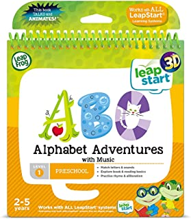 LeapFrog 460603 Alphabet Adventures Activity Book 3D, Multicoloured
