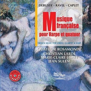 Musique française pour harpe et quatuor (feat. Christian Lardé, Marie-Claire Jamet)