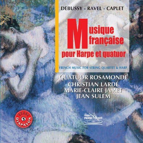 Quatuor Rosamonde feat. Christian Lardé & Marie-Claire Jamet